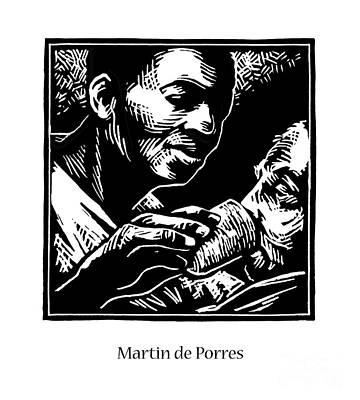 Painting - St. Martin De Porres - Jlmpo by Julie Lonneman
