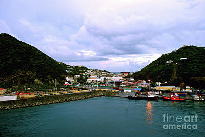 Photograph - St. Martin Harbor by Gary Wonning