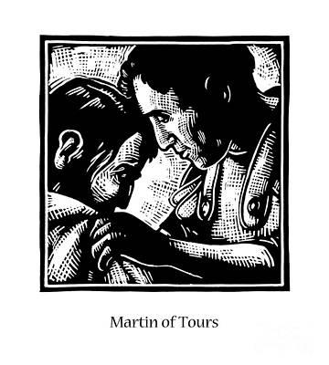 Painting - St. Martin Of Tours - Jltou by Julie Lonneman