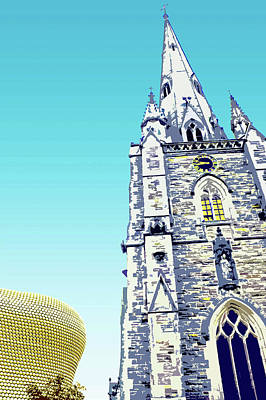 Digital Art - St Martins And Selfridges by Mary Castellan