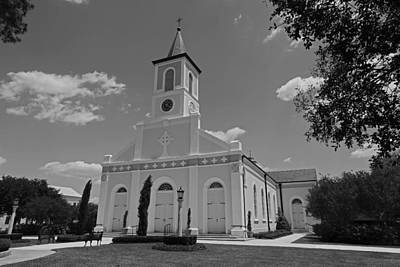 Photograph - St. Martinville Church by Ronald Olivier