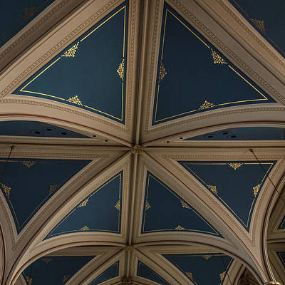 Photograph - St. Mary Ceiling by Gregory Daley  MPSA