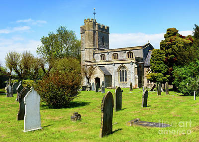 Photograph - St Mary Church, Meare by Colin Rayner