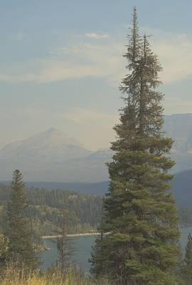 St. Mary Lake, Glacier, Montana Art Print by Joseph Thiebes