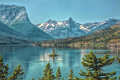 Photograph - St Mary Lake by John M Bailey