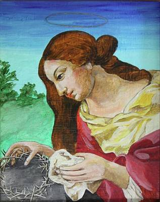 St. Mary Magdalene Mourning Art Print