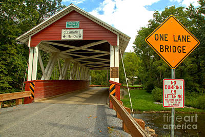 Photograph - St. Mary One Lane Bridge by Adam Jewell