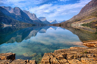 Photograph - St Mary Partly Cloudy Reflections by Adam Jewell