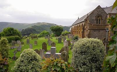 Photograph - St Mary The Virgin Church Lynton Exmoor North Devon by Richard Brookes