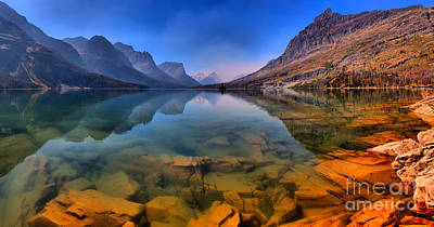 Photograph - St Mary Vibrant Reflections Panorama by Adam Jewell