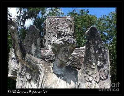 Coastal Georgia Photograph - St. Marys Angel Face by Rebecca Stephens