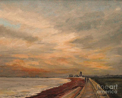 Painting - St Mary's Bay Kent Uk by Beatrice Cloake