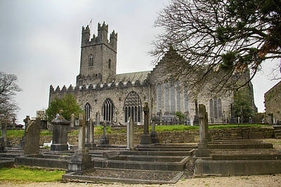 Photograph - St. Mary's Cathedral, Limerick by Marie Leslie