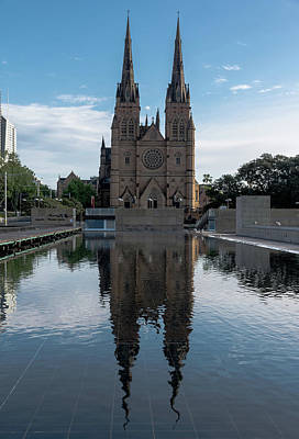 Photograph - St Mary's Cathedral by Steven Richman