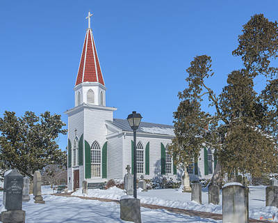 Photograph - St. Mary's Catholic Church Dhfx0009 by Gerry Gantt