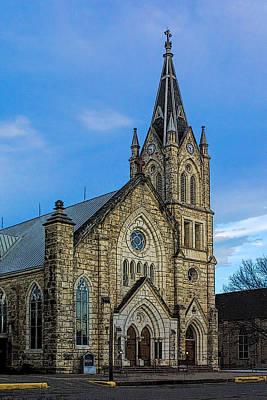 St. Mary's Catholoc Church Original by Linda Phelps