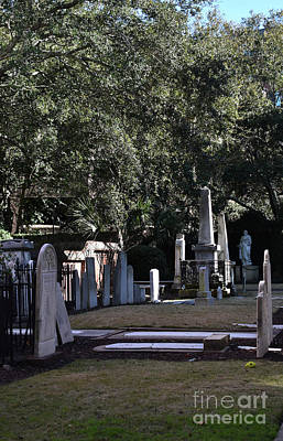 Photograph - St. Mary's Cemetary Charleston by Skip Willits