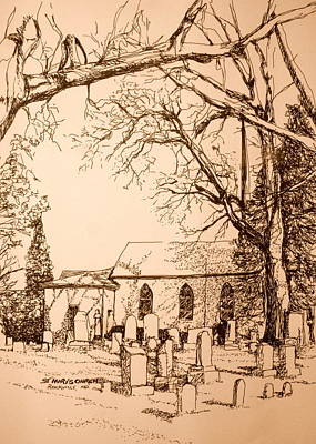 St Mary's Cemetery Art Print by George Lucas