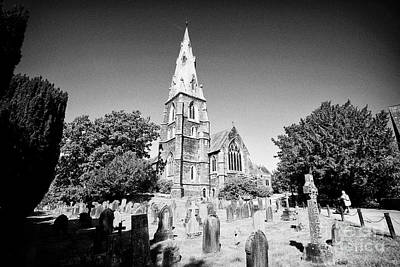 Ambleside Wall Art - Photograph - St Marys Church And Churchyard Ambleside Lake District Cumbria England Uk by Joe Fox