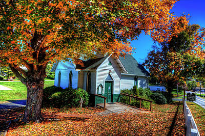 St Mary's Church Art Print by Dale R Carlson