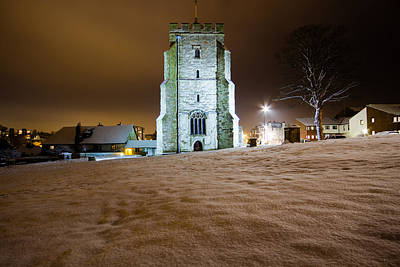 Photograph - St Mary's Church, Eastbourne, Old Town by Will Gudgeon