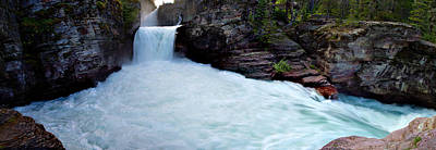 Photograph - St Mary's Falls Pano by David Andersen