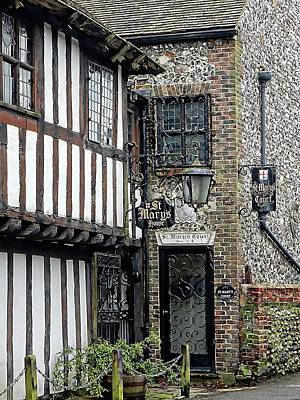 Photograph - St Marys House Bramber by Dorothy Berry-Lound