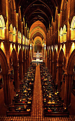 Photograph - St Mary's Interior From The Top by Miroslava Jurcik