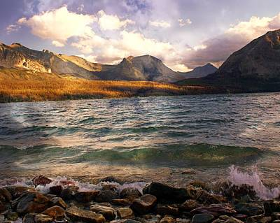Photograph - St. Mary's Lake 2 by Marty Koch