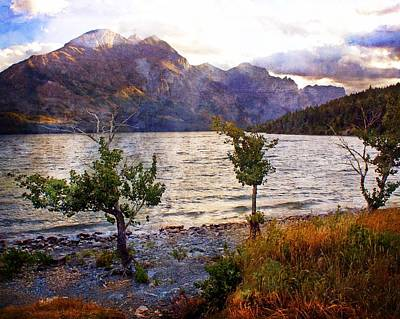 Photograph - St. Mary's Lake 4 by Marty Koch
