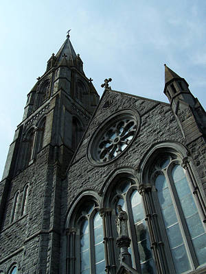 Stained Glass Ireland Photograph - St. Mary's Of The Rosary Catholic Church by Teresa Mucha