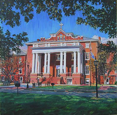 St Marys School Art Print