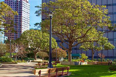 Photograph - St. Mary's Square Park by Bonnie Follett