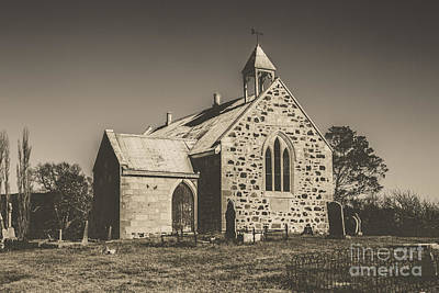 Christian Sacred Photograph - St Marys Vintage Church by Jorgo Photography - Wall Art Gallery