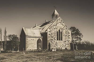Little Chapel Photograph - St Marys Vintage Church by Jorgo Photography - Wall Art Gallery