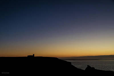 Photograph - St. Materiana's Church, Tintagel by Ross Henton