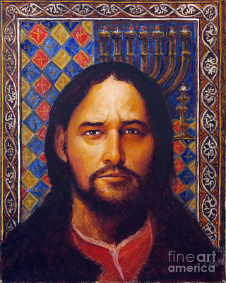Painting - St. Matthew - Lgmat by Louis Glanzman