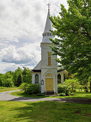 Photograph - St. Matthew's Chapel by Betty Pauwels