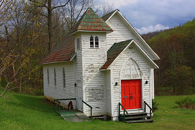 Photograph - St. Matthew's Church by Dale R Carlson