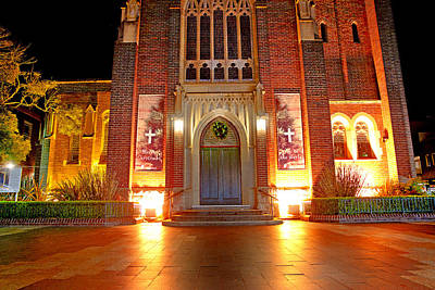 Photograph - St  Matthews Church Manly by Miroslava Jurcik