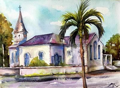 St. Matthews Church, Nassau Art Print