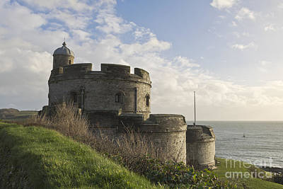 Photograph - St Mawes Castle Cornwall by Terri Waters