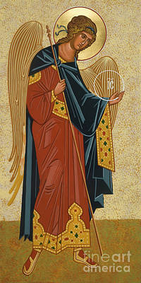 Painting - St. Michael Archangel - Jcmcg by Joan Cole