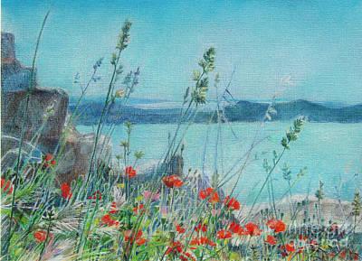 St. Michael Croatia Art Print by Radchenko Julia