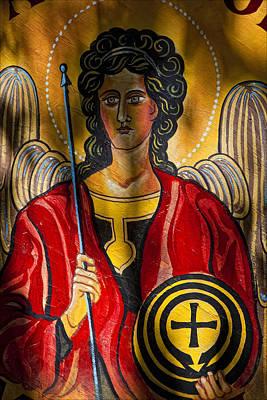 St. Michael  Art Print by Robert Ullmann