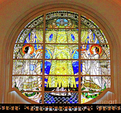 Photograph - St Michaelis Kirche 2 by Randall Weidner