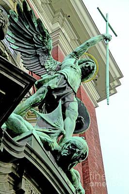 Photograph - St Michaelis Kirche 3 by Randall Weidner