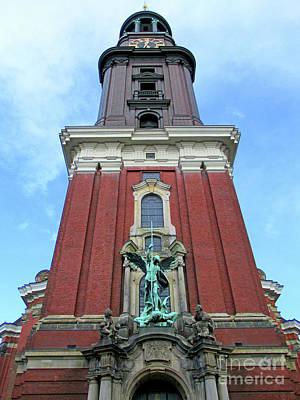 Photograph - St Michaelis Kirche 4 by Randall Weidner