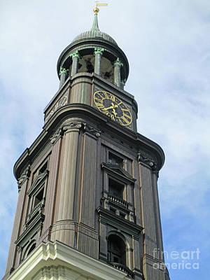 Photograph - St Michaelis Kirche 9 by Randall Weidner