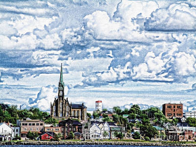 St Michaels Basilica Art Print by KJMcGraw